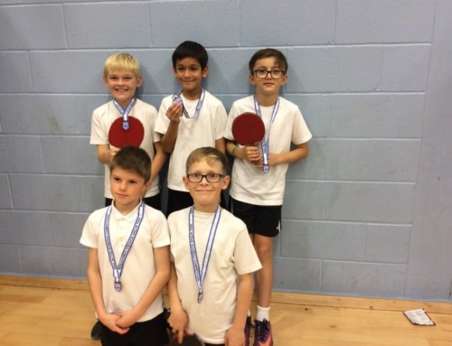 Table Tennis Champions!